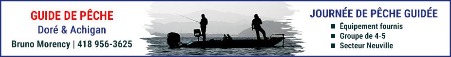 Guide de pêche Bruno Moreancy Québec